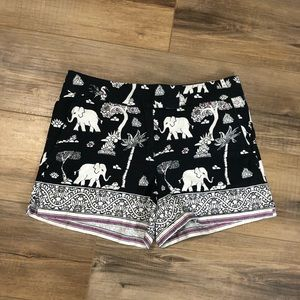 NWT Loft Elephant Print Riviera Short